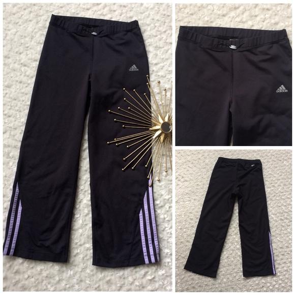 100% Rabatt auf adidas Pants Climalite Cropped Workout Gr